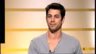 Adam Garcia to star in new West End show 'Tap Dogs' Adam Garcia LIVE STUDIO interview SOT