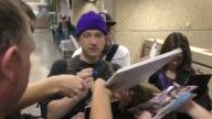 Adam Horovitz of Beastie Boys at Salt Lake City International Airport at Celebrity Sightings on January 21 2017 in Park City Utah