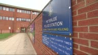Adam Johnson charged with sexual activity with an underage girl County Durham Peterlee EXT General views of Peterlee Police Station and entrance sign
