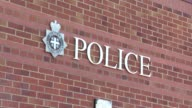 Adam Johnson charged with sexual activity with an underage girl police station arrival and departure ENGLAND County Durham Peterlee Adam Johnson from...