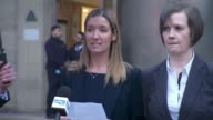 Adam Johnson found guilty of child sex charge Yorkshire Bradford Press photographers outside court Det Con Kimberly Walton press statement SOT It's...