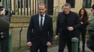 Adam Johnson 'knew young fan was underage' court told Bradford West Yorkshire EXT Adam Johnson from court and into car accompanied by his partner...