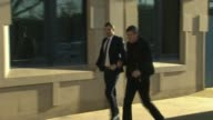 Johnson denies late guilty plea was attempt to prolong career ENGLAND Yorkshire Bradford EXT Various of footballer Adam Johnson arriving at court...
