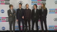Adam Levine and Maroon 5 on winning their first American Music Award on their plans for 2012 on performing in Indonesia on celebrity crushes on if...