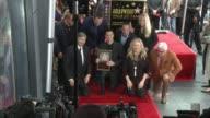 Adam Levine Blake Shelton and Sammy Hagar at Hollywood Walk Of Fame on February 10 2017 in Hollywood California