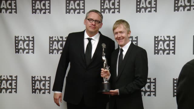 Adam McKay Chris King at 66th Annual ACE Eddie Awards in Los Angeles CA
