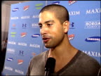 Adam Rodriguez on what makes the Maxim party cool at the Maxim Celebration of Super Bowl XLI at Htel de Maxim in South Beach Florida on February 2...