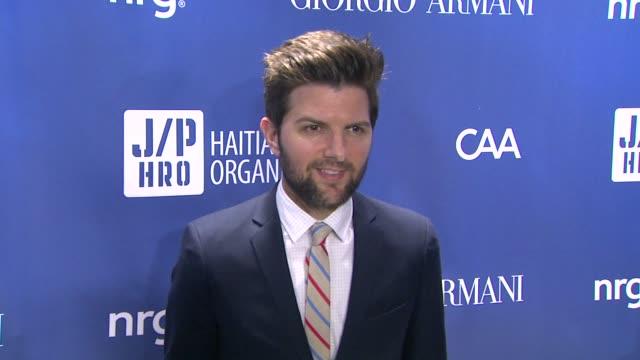 Adam Scott at 3rd Annual Sean Penn Friends 'Help Haiti Home' Gala Presented By Giorgio Armani To Benefit J/P Haitian Relief Organization on at...