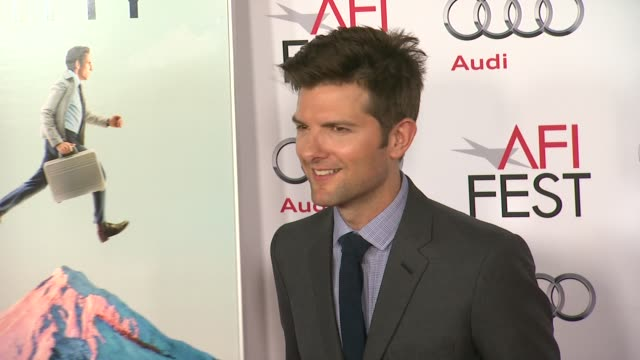 Adam Scott at AFI FEST 2013 Premiere Of 'The Secret Life Of Walter Mitty' in Hollywood CA on