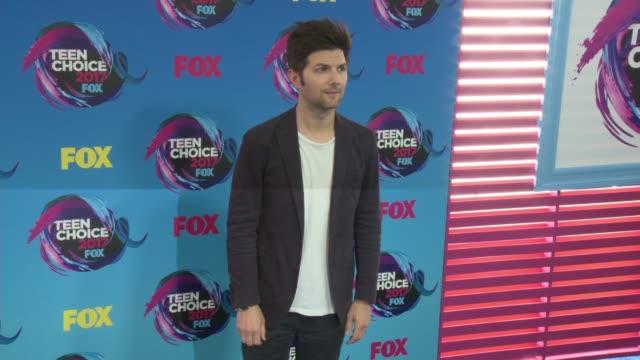 Adam Scott at Teen Choice Awards 2017 in Los Angeles CA
