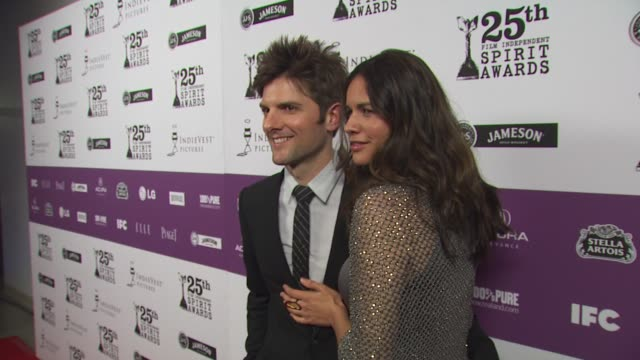 Adam Scott at the 25th Independent Spirit Awards Hosted By Jameson Irish Whiskey at Los Angeles CA