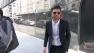Adam Scott at the 'Good Day New York' studio in New York NY on 3/9/2012