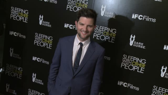 Adam Scott at the 'Sleeping With Other People' Los Angeles Premiere at ArcLight Cinemas on September 09 2015 in Hollywood California