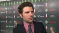 Adam Scott on Amy Poehler being honored at the Variety's 2nd Annual Power Of Comedy Event at Hollywood CA