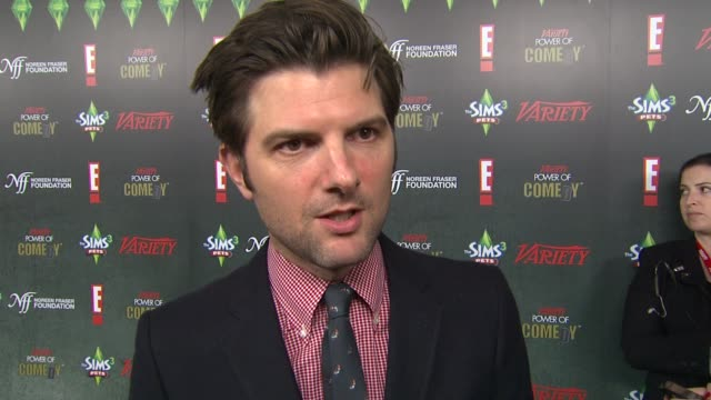 Adam Scott on the charity at the Variety's 2nd Annual Power Of Comedy Event at Hollywood CA