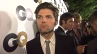 Adam Scott on what brings him out what his MOTY title would be and what flavor of ice cream he would be at the GQ's 2011 'Men Of The Year' Party at...