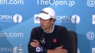 Adam Scott press conference RESTRICTION This content shall not be licensed in Germany Austria and France In respect of Japan the content may not be...
