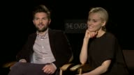 INTERVIEW Adam Scott Taylor Schilling on comfort zones prosthetics and swinging at 'The Overnight' Los Angeles Press Day at Four Seasons Hotel Los...
