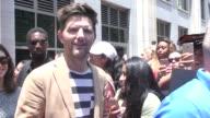 Adam Scott walking around at San Diego Comic Con in San Diego in Celebrity Sightings in San Diego