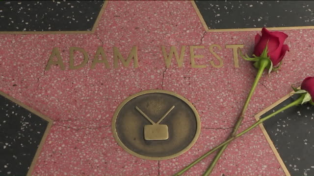 KTLA Adam West Star On The Hollywood Walk of Fame