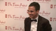 Adamo Ruggiero at the 8th Annual Trevor Project New York Gala at New York NY