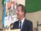 Addressing a crowd in Benghazi's Tahrir Square UK Prime Minister David Cameron says 'Col Gaddafi said he would hunt you down like rats but you showed...