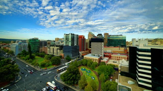 Geschäftsviertel von Adelaide, South Australia