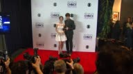 Adelaide Kane and Torrance Coombs at the 40th Annual People's Choice Awards Photo Room at Nokia Theatre LA Live on in Los Angeles California