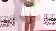 Adelaide Kane at the 40th Annual People's Choice Awards Arrivals at Nokia Theatre LA Live on in Los Angeles California