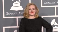 Adele at 54th Annual GRAMMY Awards Arrivals on 2/12/12 in Los Angeles CA