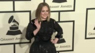 Adele at 58th Annual GRAMMY Awards® Arrivals at Staples Center on February 15 2016 in Los Angeles California