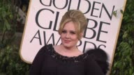 Adele at 70th Annual Golden Globe Awards Arrivals 1/13/2013 in Beverly Hills CA