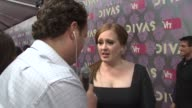Adele at the 2009 VH1 Divas Red Carpet at New York NY