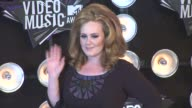 Adele at the 2011 MTV Video Music Awards at Los Angeles CA