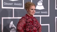 Adele at The 55th Annual GRAMMY Awards at Staples Center on February 10 2013 in Los Angeles California