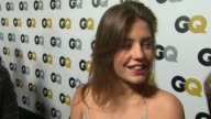 INTERVIEW Adele Exarchopoulos on what qualities make a gentlemen at GQ Men Of The Year Party in Los Angeles CA on 11/12/13