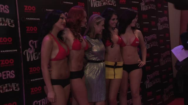 Adele Silva at Strippers vs Werewolves World Premiere at Apollo Piccadilly Circus on April 24 2012 in London England