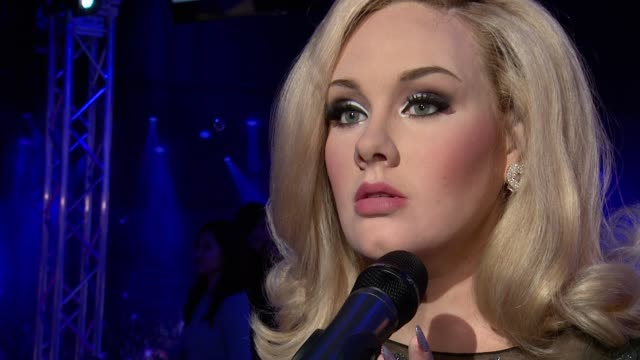 Adele Wax Figure Adele Wax Figure Unveiling at Madame Tussaud's at Madame Tussauds on February 19 2014 in New York City
