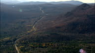 Adirondack Mountains And Blue Ridge Road - Aerial View - New York,  Essex County,  United States