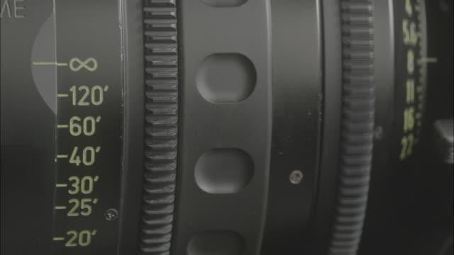 Adjusting camera lens