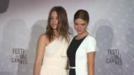 Adle Exarchopoulos LŽa Seydoux at Cannes Winners Reactions on 5/26/13 in Cannes France