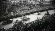 Adolf Hitler arriving in Vienna / Austria