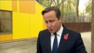 David Cameron visits Coram children's charity EXT David Cameron MP interview SOT On speeding up the adoption process / mental health crossparty...