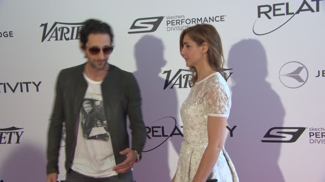 Adrian Brody Clotilde Courau at Relativity Media 10th Anniversary Lunch at Hotel du CapEdenRoc on May 18 2014 in Cap d'Antibes France