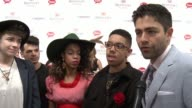 INTERVIEW Adrian Grenier and The Skins at 142nd Kentucky Derby at Churchill Downs on May 07 2016 in Louisville Kentucky