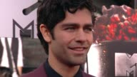 Adrian Grenier at the 2014 MTV Movie Awards at Nokia Theatre LA Live on April 13 2014 in Los Angeles California