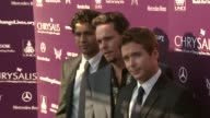Adrian Grenier Kevin Dillon Kevin Connolly at the 8th Annual Chrysalis Butterfly Ball at Los Angeles CA