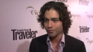 Adrian Grenier on what he likes to do at Conde Nast Traveler Celebrates 'The Visionaries' And 25 Years Of Truth In Travel in New York 09/18/12