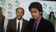 Adrian Grenier on why he supports Global Green and what he does to live a green life at Global Green USA's 9th Annual PreOscar Party on 2/21/12 in...