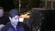 Adrian Grenier outside Catch Restaurant in Hollywood in Celebrity Sightings in Los Angeles